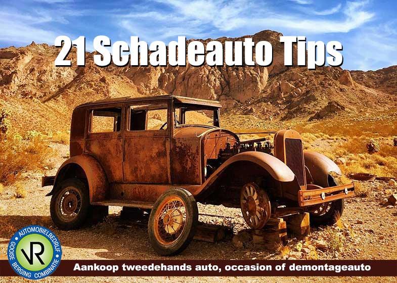 21 Schadeauto Tips – Aankoop tweedehands auto, occasion of demontageauto